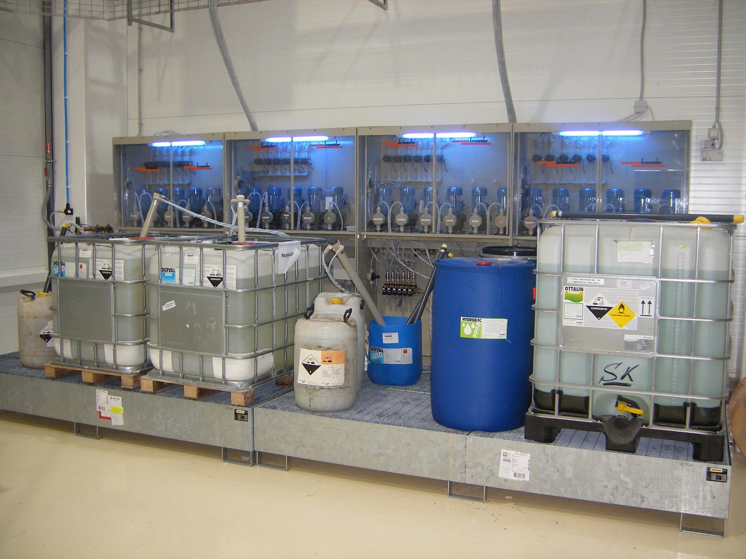 Dosing Systems For Liquid Detergents Kreussler Textilchemie