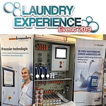 The EASY T at the Laundry Experience Event