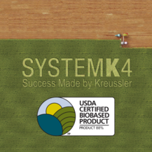 Biobased SOLVONK4 has been awarded the USDA BioPreferred® product label